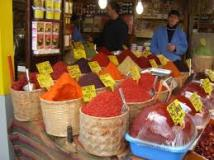 Bangkok spice market