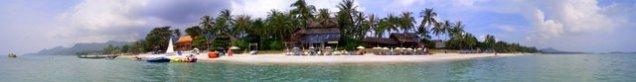Ko Samui beach panorama