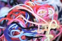 unraveled yarn