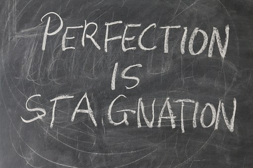 perfection is stagnation