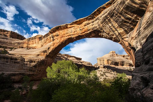 Supapu Bridge in Arches National Park 1