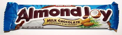 Almond Joy packaging