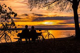couple with bikes-001
