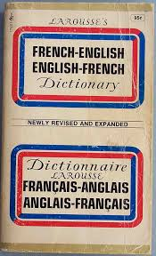 French to English dictionary