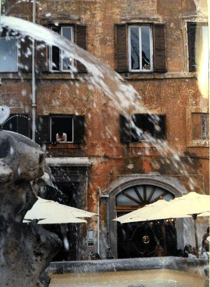 window fountain