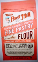 Bobs Red Mill unbleached pastry flour