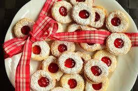 Linzer tart cookie 2