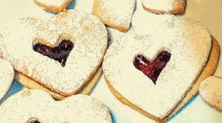 Linzer tart cookies-best quality photo