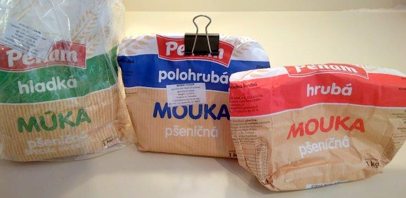 Czech-Slovak flours