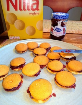 Nilla wafers and sandwich cookies